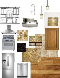 Kitchen Design Board
