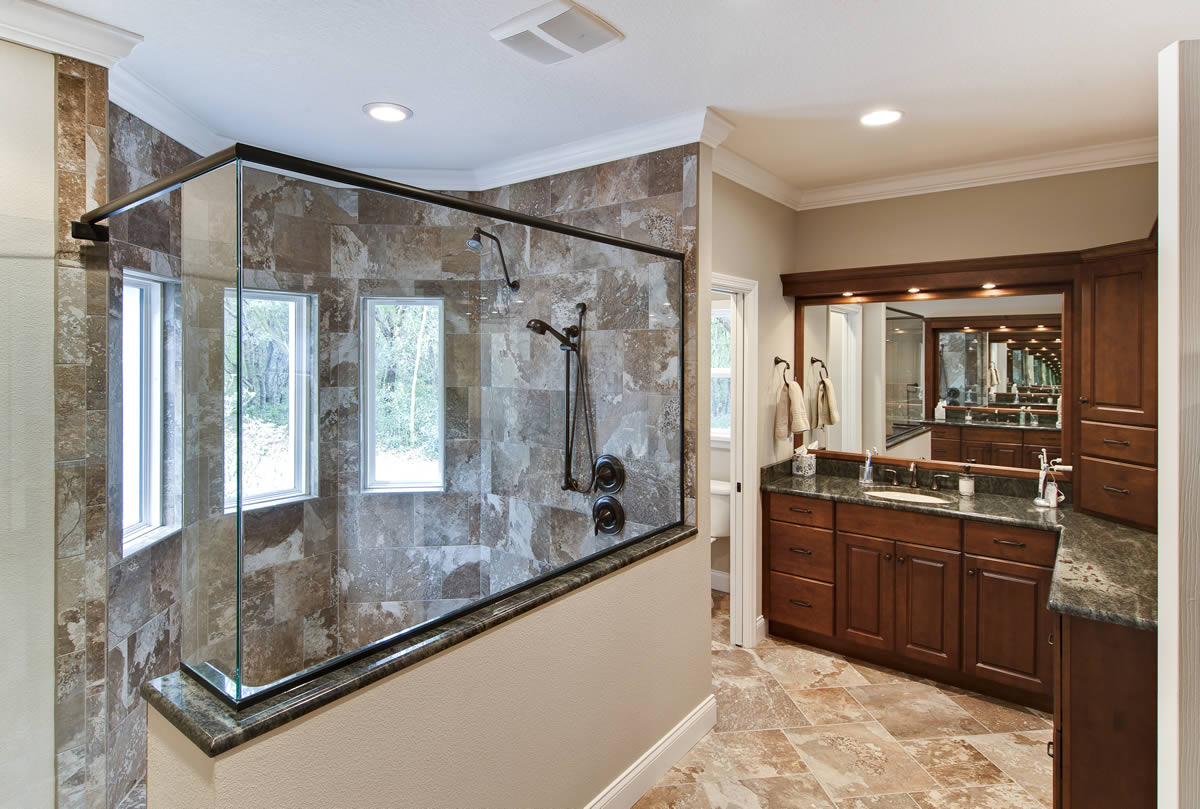 Bathroom remodeling orlando orange county art harding for Bathroom renovations