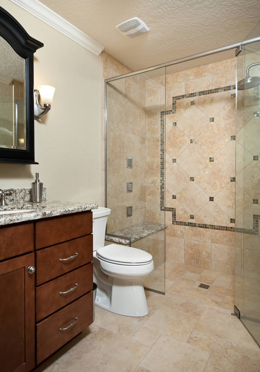 Bathroom remodeling orlando orange county art harding for Bathroom remodel pics