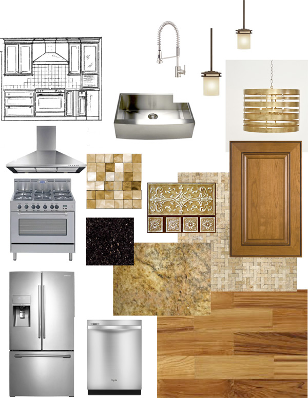 Kitchen design boards interior design services harding for Kitchen design services