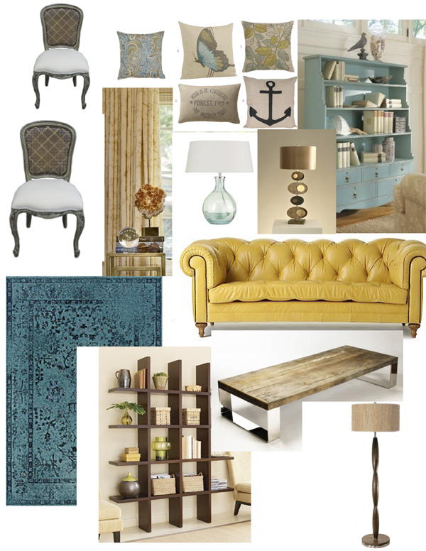Delightful Living Room Design Board Part 15