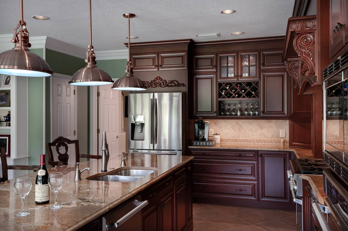 Kitchen remodeling orange county orlando art harding for Kitchen renovation images